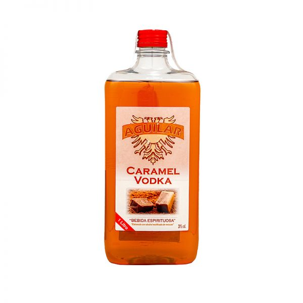 Vodka Caramelo Aguilar Pet