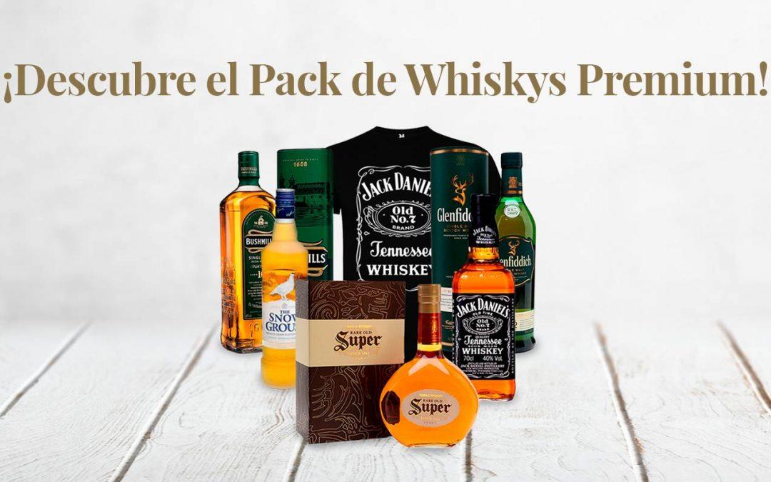 DESCUBRE EL PACK DE WHISKYS PREMIUM DE BODEGA AGUILAR